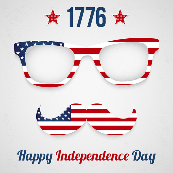 Free vector USA Independence Day