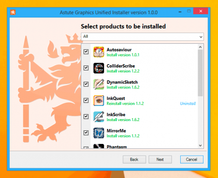 New Unified Installer