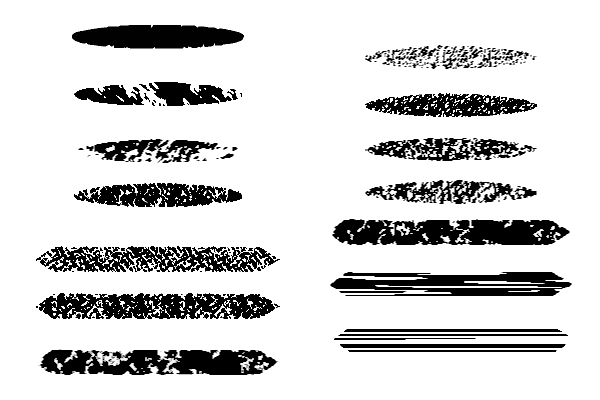 Rough Brushes 3