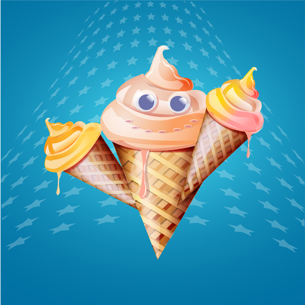 free vector ice cream cone