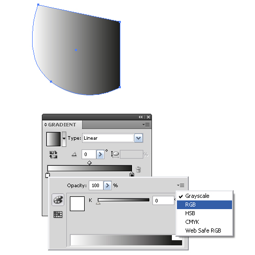 how to use gradient tool in illustrator cs6