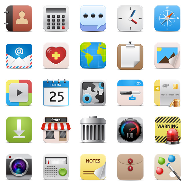 Apps Icons Vector images