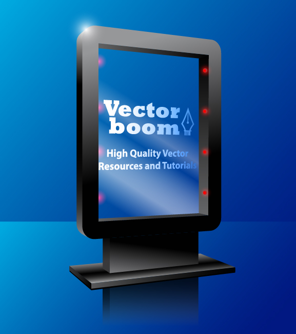 vector advertising outdoor billboard