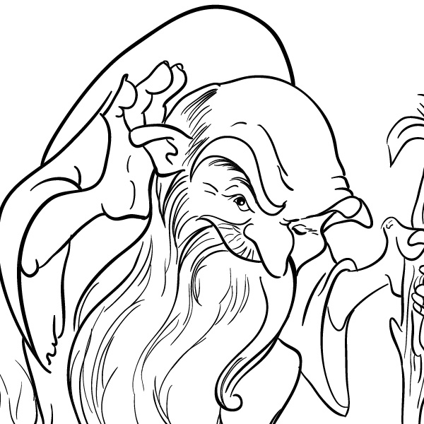 Line Art On Illustrator : How to create a clean vector outline with adobe