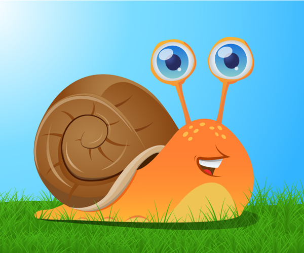How to create a cute snail in adobe illustrator for How do you draw a snail