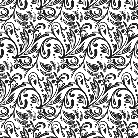 Floral Seamless Pattern with Adobe Illustrator CS6 and WidthScribe