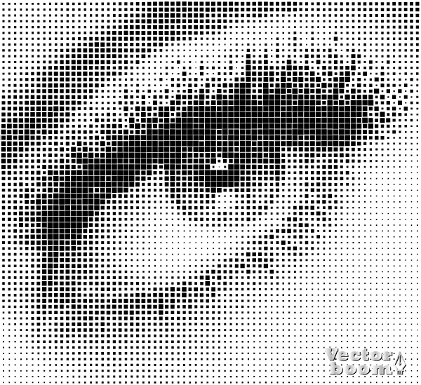 square halftone