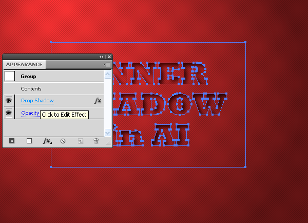 Inner Shadow in Adobe Illustrator