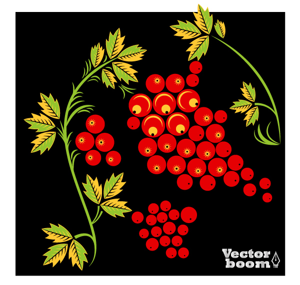 ashberry's branch for the Russian ornament