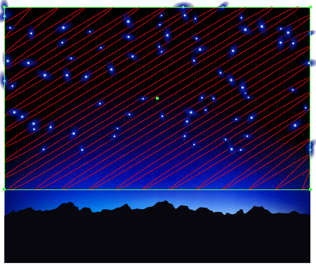 How to Create Random Texture Using Adobe Illustrator Starry Sky