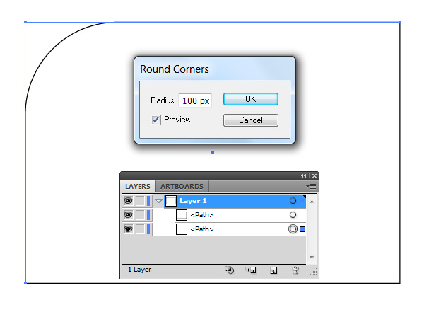 how to draw a rectangle with rounded corners in autocad