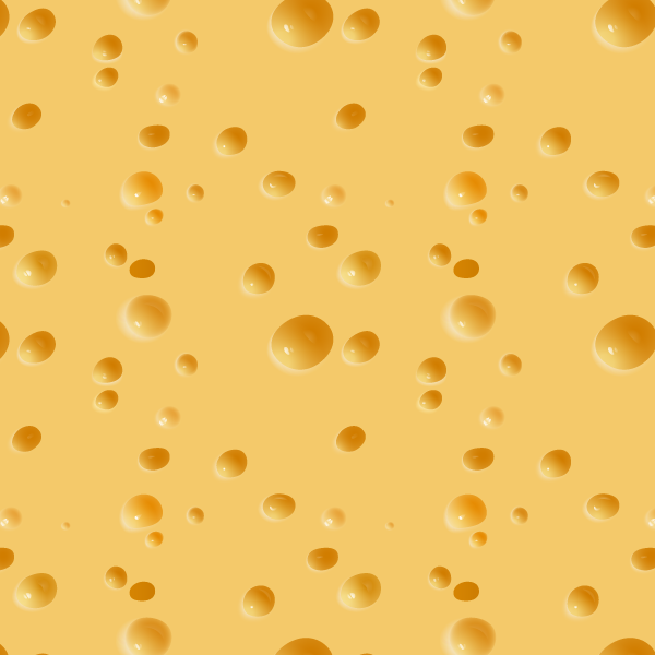 seamless cheese pattern