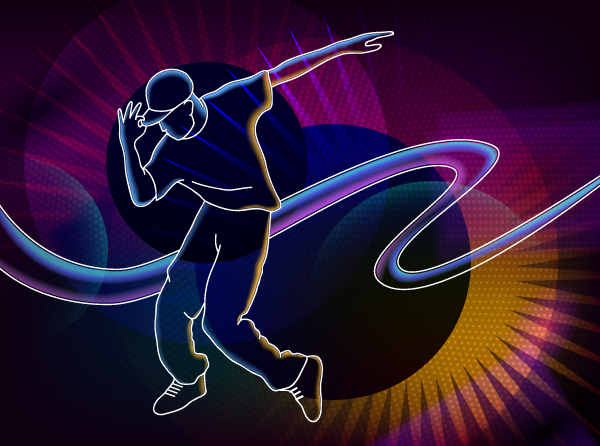 How to Create a Dancer Using Illustrator CS6, Phantasm CS, VectorScribe and DrawScribe