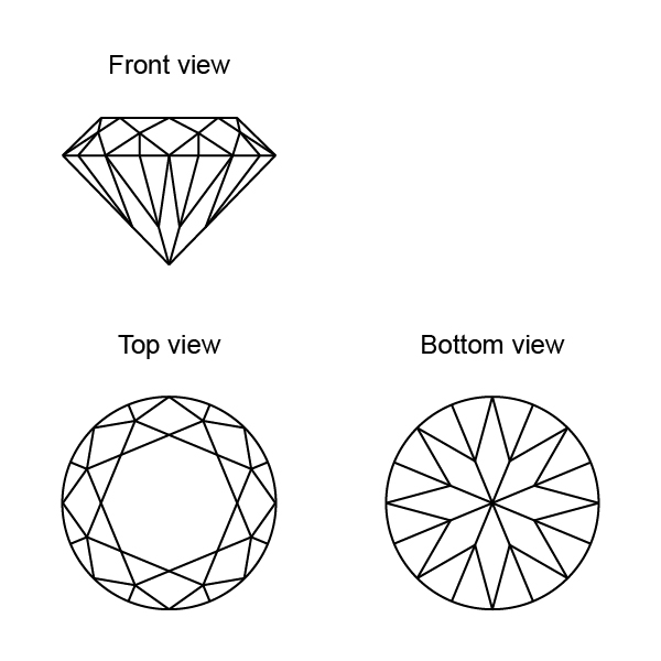 diamond drawing top view wwwpixsharkcom images