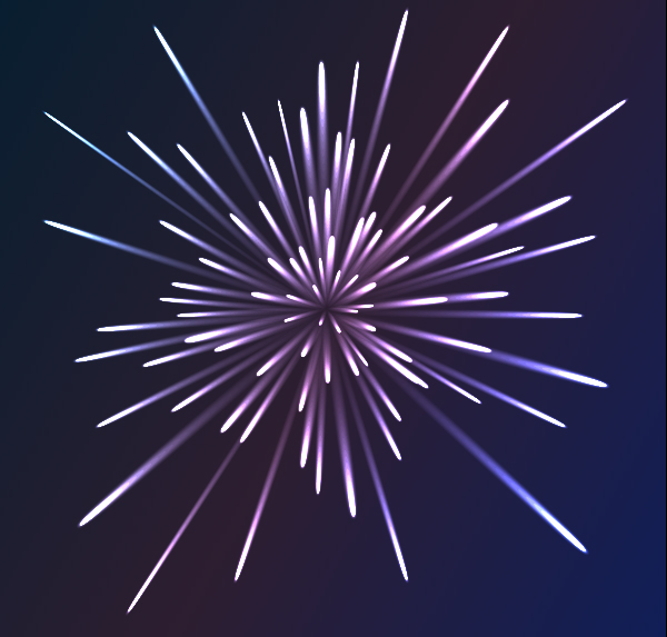Illustrator Tutorial How To Create Colorful Vector Fireworks