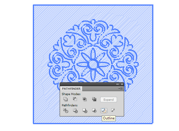 how to add hatching illustrator