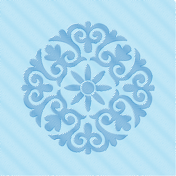 Hatching and Embossed Pattern in Adobe Illustrator