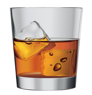 Illustrator Tutorial: How to Create Whiskey on the Rocks
