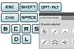 Shortcuts for VectorScribe (PathScribe) : Part 1