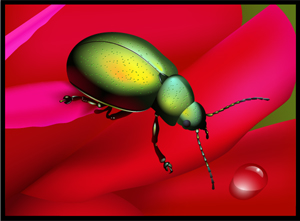 How to Create a Rainbow Beetle in Adobe Illustrator