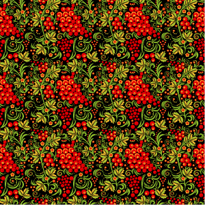 How to Create a Seamless Pattern in Khokhloma Painting Style in Adobe Illustrator