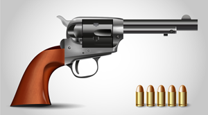 How to Illustrate a Handgun in Adobe Illustrator