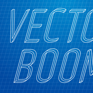 Illustrator Text Effect Tutorial: How to Create Impossible Text and Apply Blueprint Effect to It