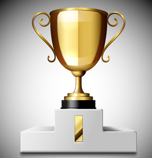 How to Create a 3D Gold Trophy Cup in Adobe Illustrator