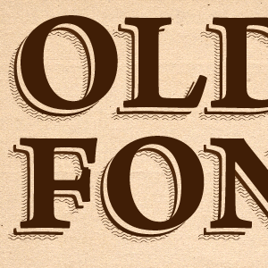 Illustrator Tutorial: How to Create an Old Font Text Effect