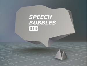 Illustrator Tutorial: How to Create an Abstract Speech Bubble