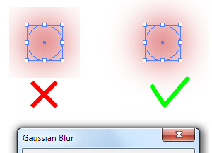 How to Remove Gaussian Blur Limitation in Adobe Illustrator
