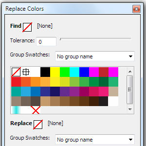 Free Illustrator Script – Replace Swatches Color