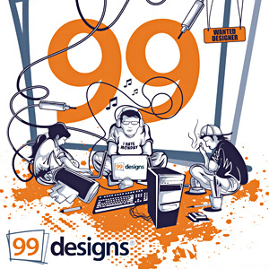 How to Make Money by Taking Part in Design Contests on 99designs.com