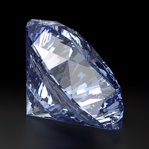 Create a Vector Diamond Using 3D Software and Illustrator