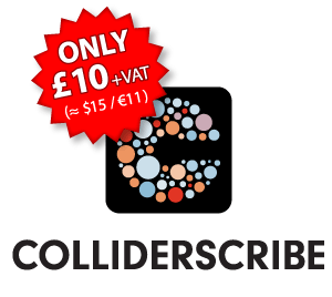 ColliderScribe is here! Our great new low-cost plug-in for Adobe Illustrator