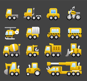 Free Vector Clipart - Construction and Machinery