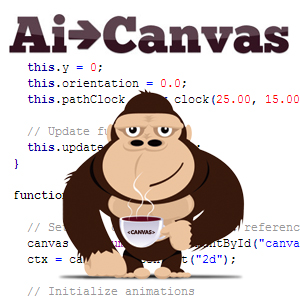 Ai -> Canvas is a Free Plug-in for Adobe Illustrator