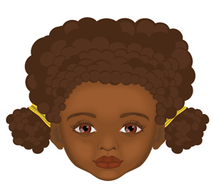 How to Create a Cartoon Little Girl Portrait in Illustrator