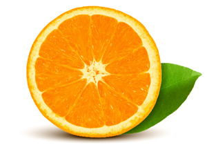 How to Create Quickly a Realistic Vector Orange in Adobe Illustrator