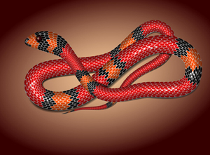 Tutorials in Vector Snake Creation, a Symbol of Year 2013
