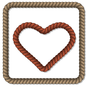 How to create vector rope in Illustrator