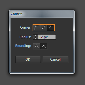 New Features of Adobe Illustrator CC/17.1. Live Corners