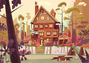 Great character designer - James Gilleard