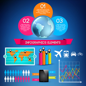 Free vector - Set of infographic elements