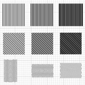 Free linear vector patterns from Oleg Levashov