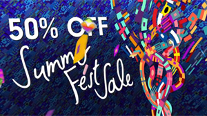 Summer Fest Sale starts NOW!