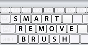 Smart Remove Brush Tool Keyboard Shortcuts