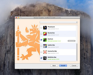 All plug-ins now available for Yosemite and Illustrator CC (v18.1)