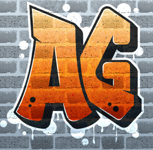 Create graffiti logo on brick wall with Texture in Illustrator