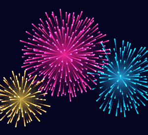 How to Create Festive Fireworks with Stipplism and Illustrator
